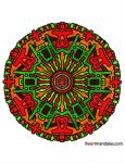 Mandala Again by Dygyt-Alice