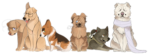 doges by tinydoodles