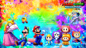 Mario and Luigi: Dream Team Wallpaper by RafaelMartins