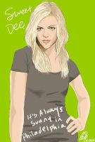 It's Always sunny- Sweet Dee by somerandominkblot