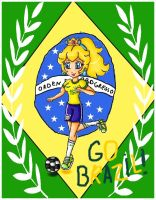 brazil world cup 2014-peach by ninpeachlover