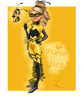Chloe(Queen bee miraculous) by LindaBlack
