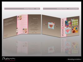 Wedding Invitation 'Cute' by simoner