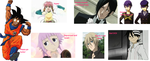 My anime Trait collage by PeterSassyPan