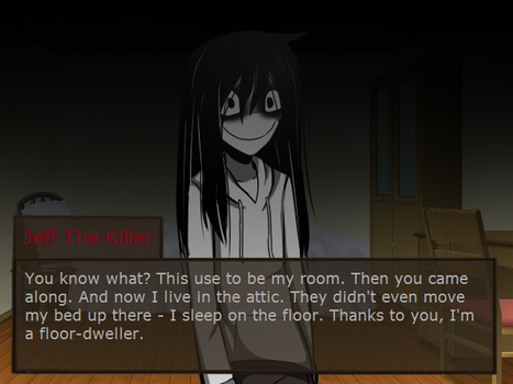 Dating Sim: Jeff The Killer by Shi-Long-Lang