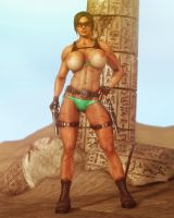 Tomb Raider Nude II by Balakir