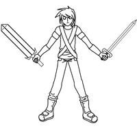 Drace Redesign Lineart by graphicalCatharsis