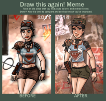 meme before and after 2011-2014 Rage - Ginny by theEyZmaster