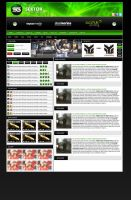 Sektor Gaming Webdesign by Joe-Burnham