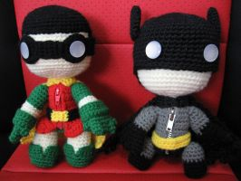 Batman and Robin by anjelicimp