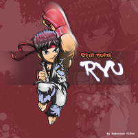 Street Fighter Chibi Ryu by Rubensonps3