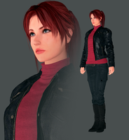 Claire Redfield Mesh Mod from Redfields by FearEffectInferno