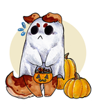Day 1: Spoopy Ghost by CritterKat