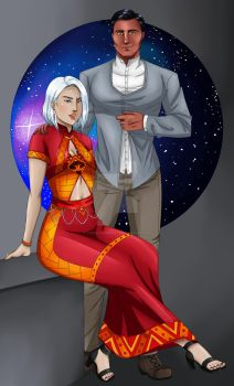 Commission: Reyes and Ryder by TheWickedBeast