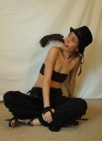 Feather, Hat, Lips by PariahRisingSTOCKS