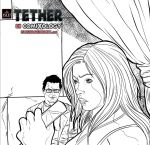Tether - Issue 2 pg 16 pnl 3 inks by IsleSquaredComics