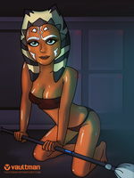 Ahsoka Tano  - Star Wars by VaultMan