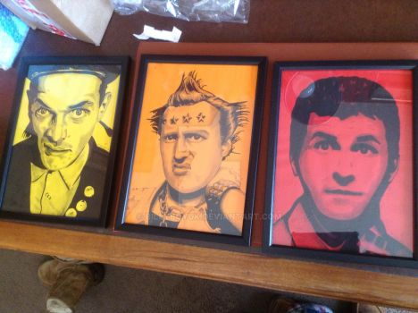 The young ones pen ink and watercolour drawings by billyboyuk