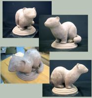 Stoat WIP by anqila