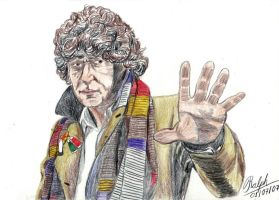 4th Doctor explaining by Ralphmax