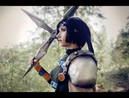 Strong Yuffie by Arwenphoto