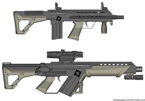 J50 Carbine and J51 Assault rifle by GunFreakFin