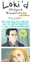 Loki'd Misadventures - ODIN IS DEAD by staypee