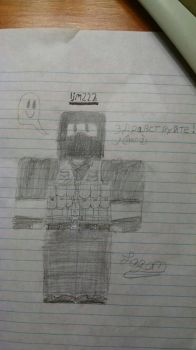 My Roblox character by ljm222