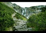 The Siklava Waterfall by Beezqp
