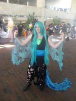 Otakon 2012 - Queen Chrysalis by mugiwaraJM