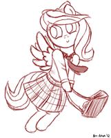Schoolfilly Flitter by Art-Anon