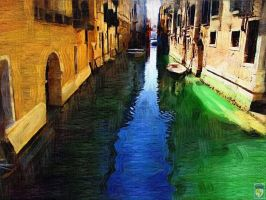 Venice blue and green by imageking10