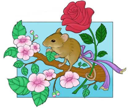 Spring Mouse by Rosvoske