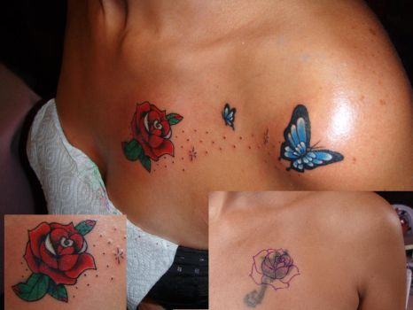 Rose cover up by camisastre