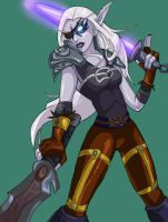 World of Warcraft: Aurore II by dalmuln