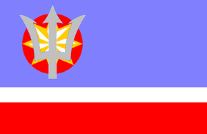 Atlantic Federation flag by kyuzoaoi