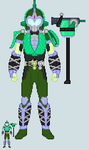 Toku sprite - Thor (Lime-Berry Arms) by Malunis