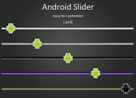 Android Slider by mtzGrafen