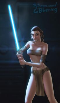 Sexy Rey (Star Wars) by Gun-B