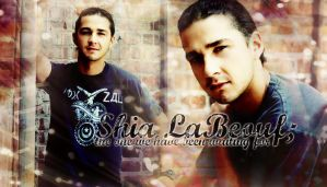 Shia LaBeouf header by Fidelian
