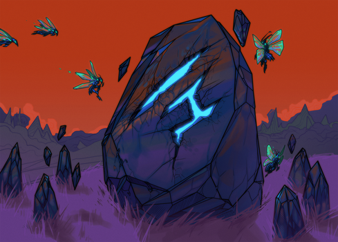 Runic Glyph by otherdane
