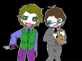 ...Joker and Crane... by popjukes1andonly