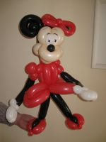 Minnie Mouse by mrballoonatic