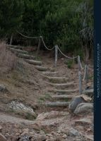 Stairs and Stones 01 by kuschelirmel-stock