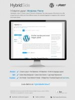Hybridside Wordpress Theme by FalconXp