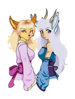 Xiao x Raeyu WIP part 2 by Eclipsed-Soul91