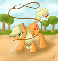 AppleJack by WolfyPon