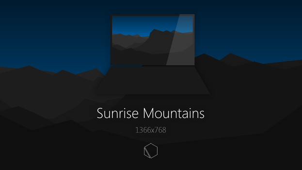 Sunrise Mountains Wallpaper by TheButterCat