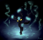 Shiny Umbreon by Psunna