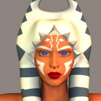 Ahsoka Tano- Test Render by Roguewing